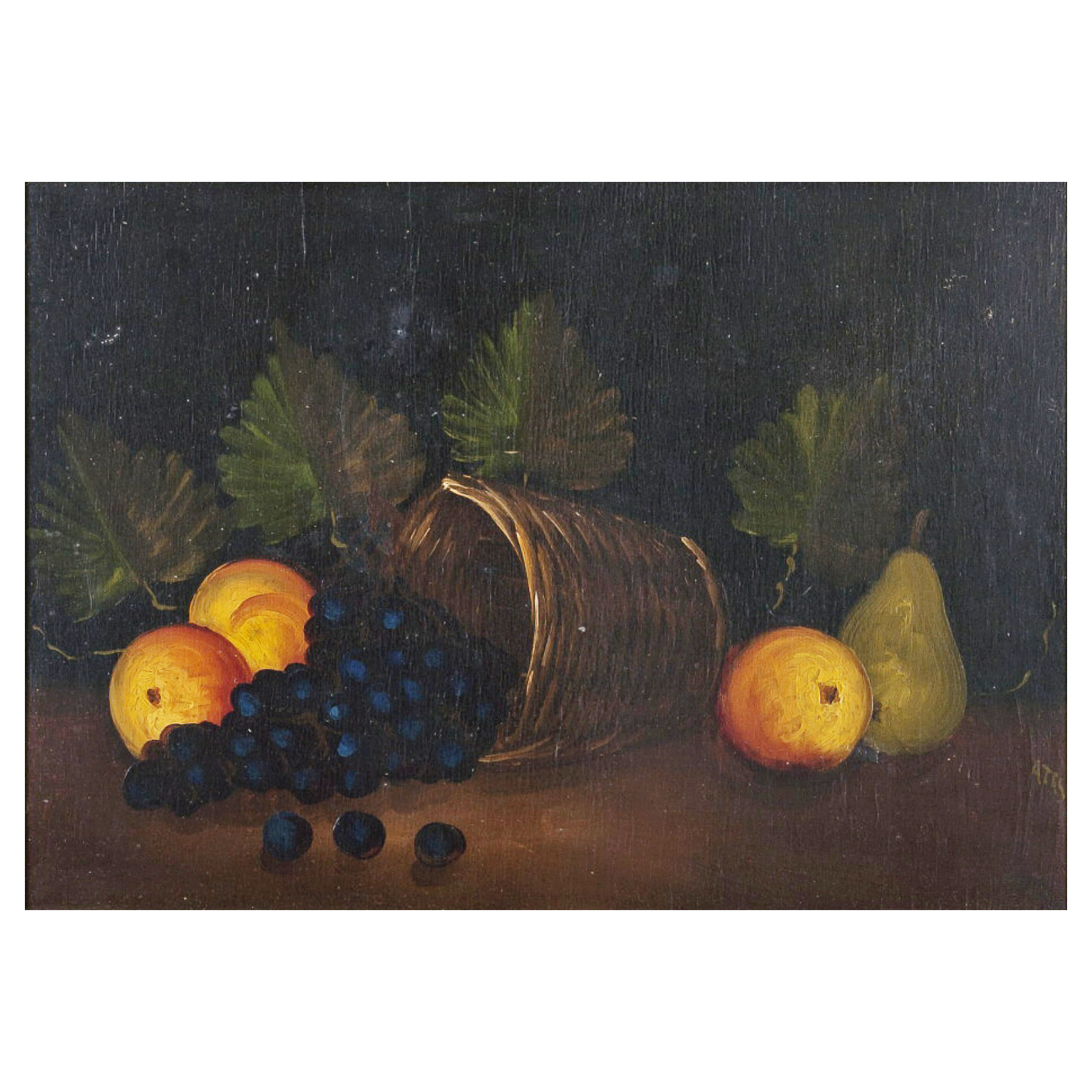 Still Life with a Fruit Basket