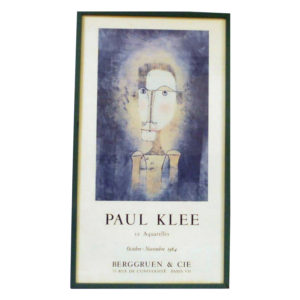 Exhibition poster for the works of Paul Klee