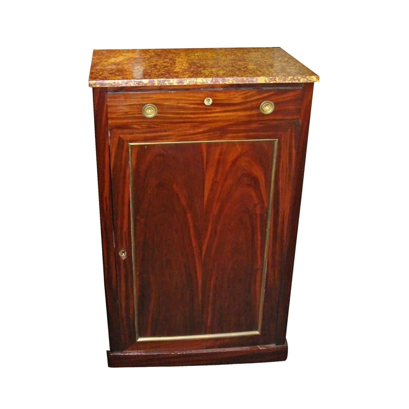 Continental Marble Top Cabinet