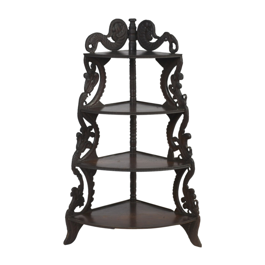 Indian Colonial Etagere