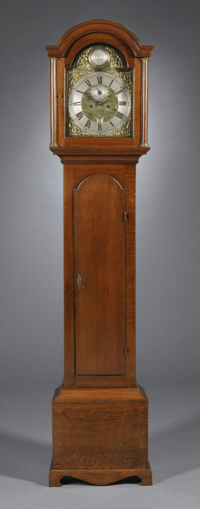 Walnut Tall Case Clock 13998